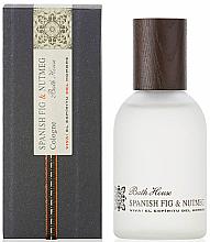 Духи, Парфюмерия, косметика Bath House Spanish Fig and Nutmeg - Одеколон