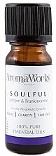 Духи, Парфюмерия, косметика Смесь эфирных масел - AromaWorks Soulful Essential Oil