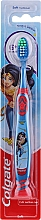 Духи, Парфюмерия, косметика Детская зубная щетка, 6+ лет, мягкая, сине-красная - Colgate Kids Soft Toothbrush Wonder Women