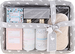 Духи, Парфюмерия, косметика Набор - Baylis & Harding The Fuzzy Duck Cotswold Collection (sponge + bath soak crystals/100g + soap/200g + show/cr/300ml + b/wash/300ml)