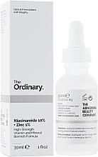 Духи, Парфюмерия, косметика Сыворотка для лица с ниацинамидом и цинком - The Ordinary Niacinamide 10% + Zinc PCA 1%