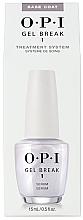 Духи, Парфюмерия, косметика Базовое покрытие для ногтей - O.P.I Gel Break Serum Base Coat