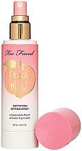 Духи, Парфюмерия, косметика Мист для лица - Too Faced Peach Mist Setting Spray