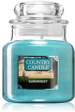 Духи, Парфюмерия, косметика Ароматическая свеча (банка) - Country Candle Summerset