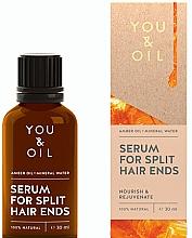 Духи, Парфюмерия, косметика Сыворотка от секущихся кончиков - You & Oil Amber. Serum For Split Hair Ends