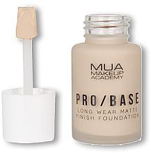 Духи, Парфюмерия, косметика Тональная основа - MUA Pro Base Long Wear Matte Finish Foundation