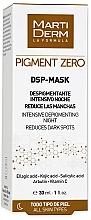 Духи, Парфюмерия, косметика Депигментирующая маска для лица - MartiDerm Pigment Zero DSP-Mask Intensive Depigmenting Night