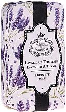 """Духи, Парфюмерия, косметика Натуральное мыло """"Лаванда и тимьян"""" - Essencias De Portugal Natura Lavander&Thyme Soap"""