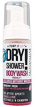 "Пена для сухого мытья тела и рук ""Малина"" - Pump It Up Dry Shower Body Wash Raspberry — фото N1"