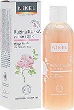 Духи, Парфюмерия, косметика Пена для ванны для лица и тела - Nikel Rose Bath