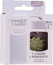Духи, Парфюмерия, косметика Декоративная подвеска для автомобиля - Yankee Candle Succulent Charming Scents Charm