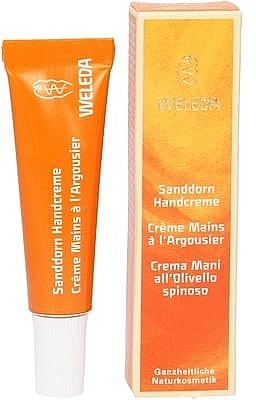 Крем для рук с маслом облепихи - Weleda Sea Buckthorn Hand Cream (мини) — фото N1
