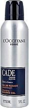 Духи, Парфюмерия, косметика Освежающий гель для бритья - L'Occitane Homme Cade Refreshing Shaving Gel
