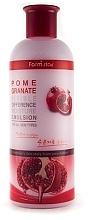 Духи, Парфюмерия, косметика Осветляющая эмульсия с экстрактом граната - Farmstay Pomegranate Visible Difference Moisture Emulsion