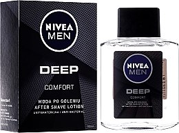 Духи, Парфюмерия, косметика Антибактериальный лосьон после бритья - Nivea Men Deep Comfort After Shave lotion