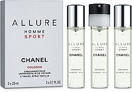 Духи, Парфюмерия, косметика Chanel Allure Homme Sport Cologne - Одеколон (+ 2 сменных блока)
