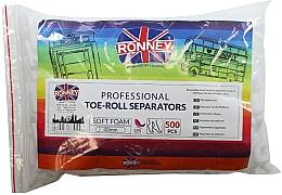 Духи, Парфюмерия, косметика Валики-разделители для педикюра, 500 шт - Ronney Professional Toe-Roll Sparators