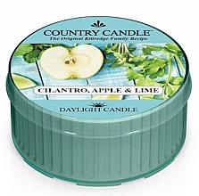 Духи, Парфюмерия, косметика Ароматическая свеча - Kringle Candle Cilantro, Apple & Lime