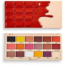 Духи, Парфюмерия, косметика Палетка теней для век - I Heart Revolution Eyeshadow Chocolate Palette Cinnamon