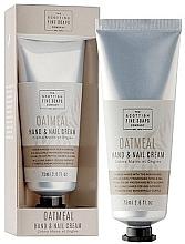 Духи, Парфюмерия, косметика Крем для рук - Scottish Fine Soaps Oatmeal Hand & Nail Cream