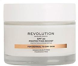 Духи, Парфюмерия, косметика Увлажняющий крем для сухой кожи - Revolution Skincare Protecting Boost SPF30