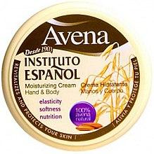 Духи, Парфюмерия, косметика Увлажняющий крем для рук и тела - Instituto Espanol Avena Moisturizing Cream Hand And Body