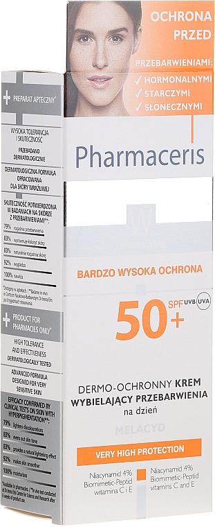 Крем для лица - Pharmaceris W Whitening Dermo-Protective Day Cream — фото N1