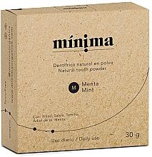 Духи, Парфюмерия, косметика Натуральный зубной порошок - Minima Organics Natural Tooth Powder
