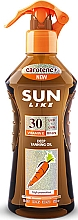 Духи, Парфюмерия, косметика Спрей-масло для быстрого загара SPF 30 - Sun Like Deep Tanning Oil SPF 30 Pump