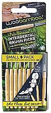 Духи, Парфюмерия, косметика Набор мини-щеток, 8 шт. - Woobamboo Toothbrush Interdental Brush Picks Small