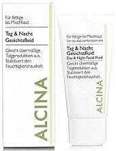 Духи, Парфюмерия, косметика Дневной и ночной флюид для жирной кожи - Alcina FM Day and Night Facial Fluid