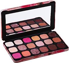 Духи, Парфюмерия, косметика Палетка теней для век, 18 оттенков - Makeup Revolution Forever Flawless Palette
