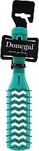 Духи, Парфюмерия, косметика Щетка для волос двухсторонняя, 9048, аквамарин - Donegal Vented Hair Brush