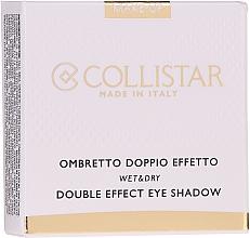 Духи, Парфюмерия, косметика Тени для век - Collistar Double Effect Eye-Shadow Wet & Dry