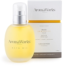 Духи, Парфюмерия, косметика Масло для ванны - AromaWorks Serenity Bath Oil