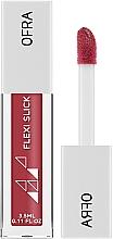 Духи, Парфюмерия, косметика Гибридный блеск для губ - Ofra Flexi Slick Hybrid Lipstick