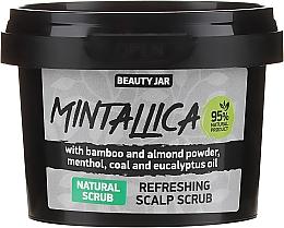 Духи, Парфюмерия, косметика Освежающий скраб для кожи головы - Beauty Jar Mintallica Refreshing Scalp Scrub