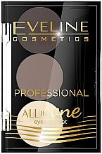 Духи, Парфюмерия, косметика Набор для макияжа и стилизации бровей - Eveline Cosmetics All In One Eyebrow Styling Set