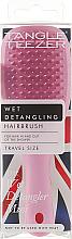 Духи, Парфюмерия, косметика Расческа для волос - Tangle Teezer The Wet Detangler Mini Baby Pink Sparkle