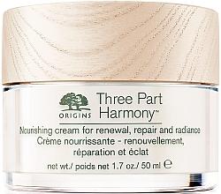 Духи, Парфюмерия, косметика Увлажняющий крем для лица - Origins Three Part Harmony Nourishing Cream