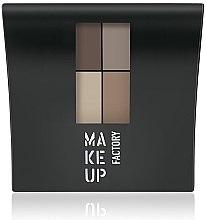 Духи, Парфюмерия, косметика Матовые тени для век - Make Up Factory Mat Eye Colors
