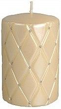 Духи, Парфюмерия, косметика Декоративная свеча, 10 см, кремовая - Artman Florence Candle