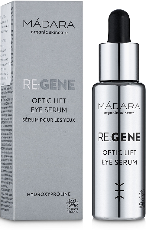 Сыворотка для зоны вокруг глаз - Madara Cosmetics Re: Gene Optic Lift Eye Serum — фото N1