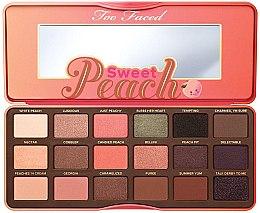 Духи, Парфюмерия, косметика Палетка теней для век - Too Faced Sweet Peach Eye Shadow Collection