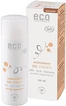 Духи, Парфюмерия, косметика СС-крем для лица - Eco Cosmetics Tinted CC Cream SPF30