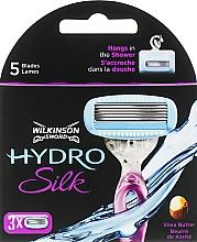Духи, Парфюмерия, косметика Сменные кассеты для бритья, 3 шт. - Wilkinson Sword Hydro Silk
