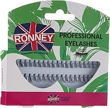 Духи, Парфюмерия, косметика Набор пучковых ресниц, 10,12,14 мм - Ronney Professional Eyelashes 00034