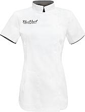 Духи, Парфюмерия, косметика Косметический фартук, размер L, белый - NeoNail Professional