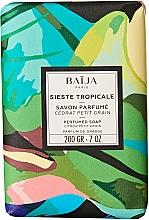 Духи, Парфюмерия, косметика Туалетное мыло - Baija Sieste Tropicale Perfumed Soap