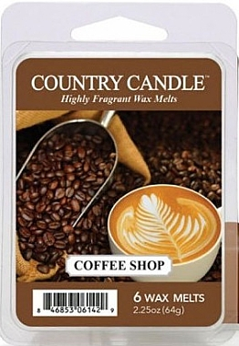 Воск для аромалампы - Country Candle Coffee Shop Wax Melts — фото N1